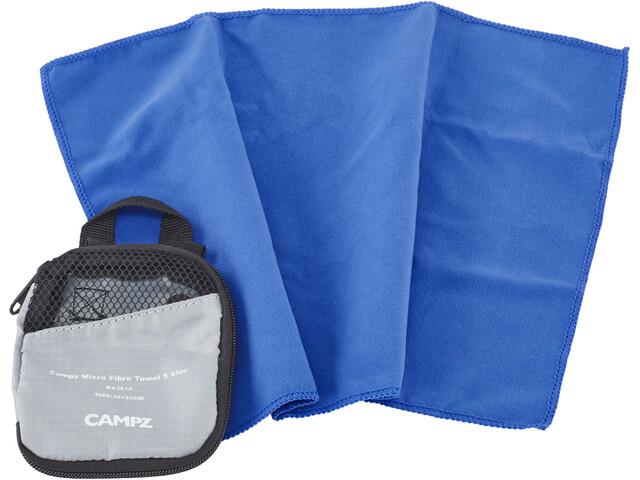 CAMPZ Micro Fibre Towel S, blue